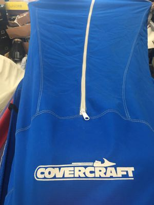 8-9' Covercraft Jetski cover, new with one gallon of Quicksilver Premium 2-Cycle Outboard Oil with TCW-3. Go online and see, the cover alone sells fo for Sale in Chelan, WA