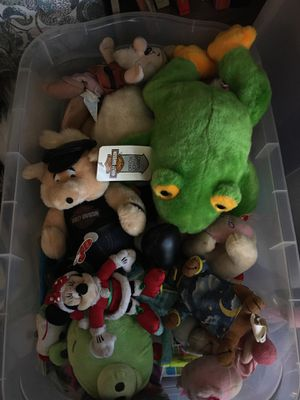 Box of stuffed animals of Disney etc, for Sale in Chino Hills, CA