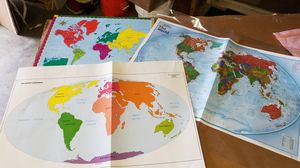 World Maps for Sale in Versailles, KY