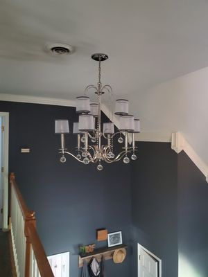 Quoizel whitney chandelier 9-light for Sale in Murfreesboro, TN