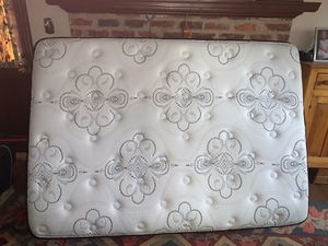Full sized bed with free futon frame for Sale in Midlothian, VA