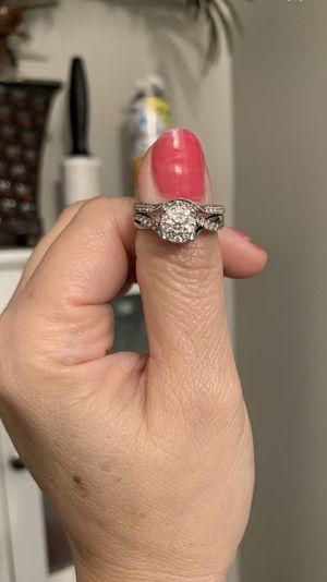 1 carat 14K Jared's wedding ring set size 7 for Sale in Hendersonville, TN