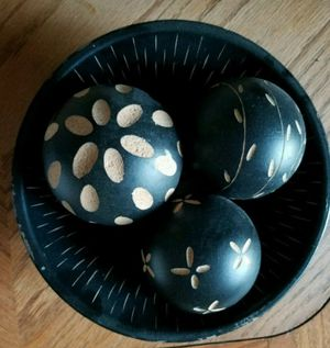 Table decoration in black wood for Sale in Tempe, AZ