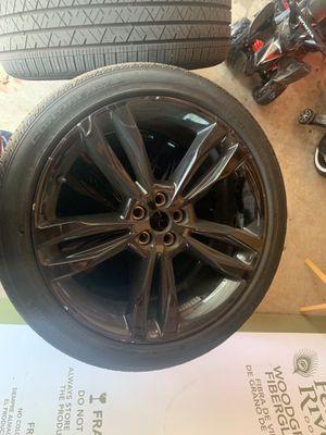 21 inch black rims for Sale in Westland, MI