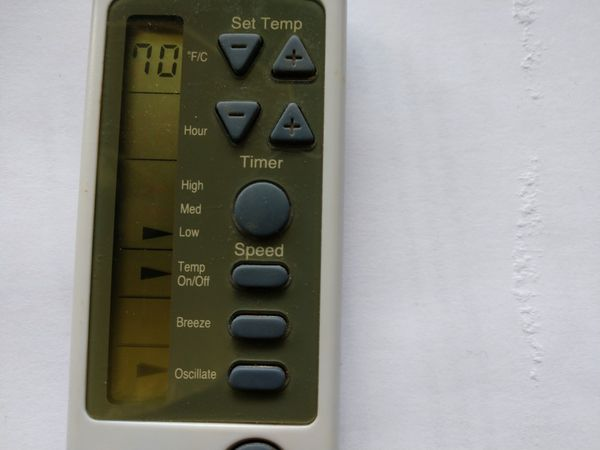 Honeywell Remote used
