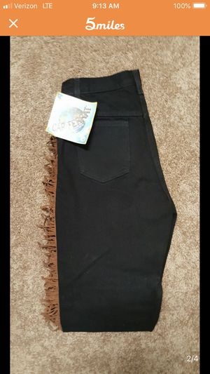 Western Brand New Women's Fringe Jeans. Sz 10 for Sale in Keller, TX