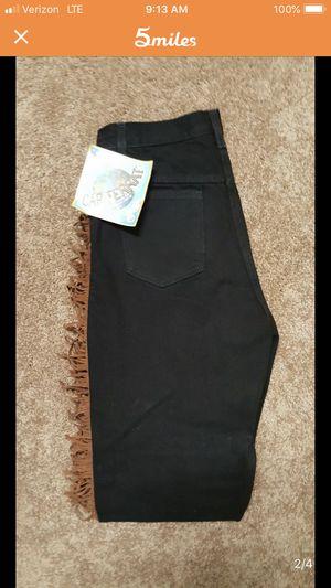 Western Brand New Women's Fringe Jeans. Sz 10 for Sale in Keller, TX