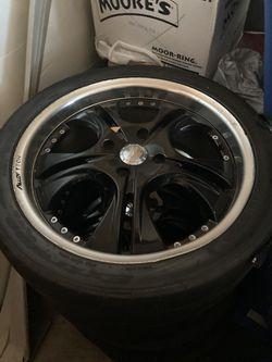 18 inch Rims and Tires for Sale in Willingboro,  NJ