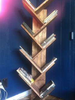 Solid Wood Bookshelf Tree for Sale in Los Angeles,  CA