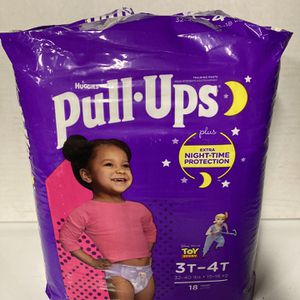 Pull Ups 3T-4T Huggies 18 Count for Sale in Corona, CA