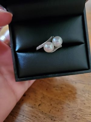Beautiful Sterling Silver 925 Pearl Ring Size 6 for Sale in Virginia Beach, VA