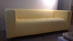 Ikea loveseat with extra BRAND NEW grey cover for Sale in Hyattsville, MD