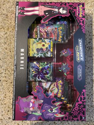 Pokemon Champion's Path Premium Collection Marnie Collection New Sealed for Sale in Austin, TX