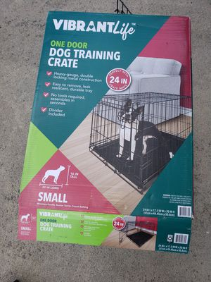 Dog kennel/crate for small dog for Sale in Douglasville, GA