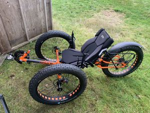 """Ice recumbent trike full fat 26"""" RS for Sale in Tacoma, WA"""