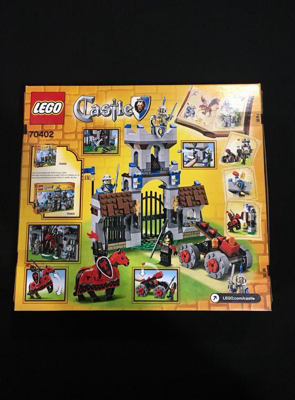 Lego Castle The Gatehouse Raid 70402 Brand New Factory Sealed