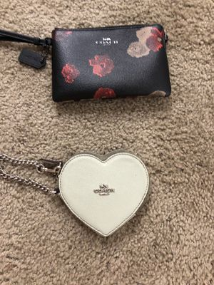 Two Coach wristlets for Sale in Vancouver, WA