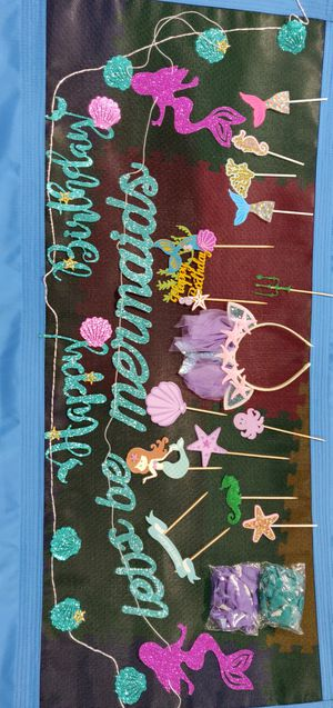 Mermaid Birthday Party Decorations for Sale in Castle Rock, CO