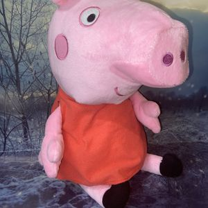 """Jumbo Large Peppa Pig 21"""" plush doll toy. for Sale in Bellflower, CA"""