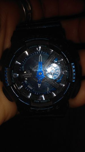 G shock used men's watch only two yes old hardly worn for Sale in San Fernando, CA