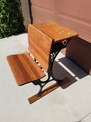 Antique School Desk for Sale in Calimesa, CA