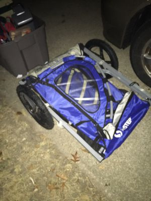 Kid carrier bike cart great condition only 50 Firm for Sale in Glen Burnie, MD
