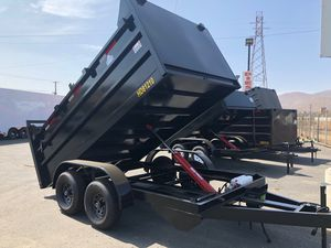 Traila ready to work ramp package bobcat custom include for Sale in Fontana, CA