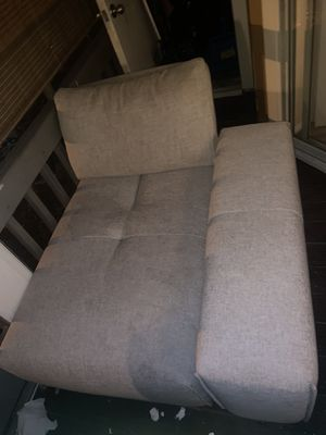 Two piece Futon / couch Need Gone! for Sale in Brandon, FL
