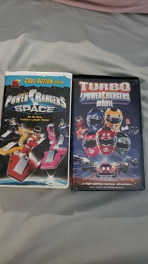 Power rangers vhs for Sale in ROWLAND HGHTS, CA