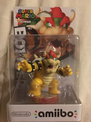 Bowser (Super Mario Bros) Amiibo for Nintendo Switch , WiiU, and 3DS for Sale in Salem, OR