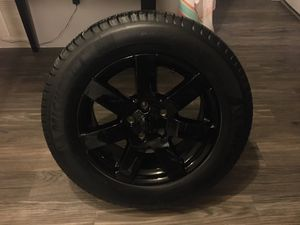 Jeep rim with brand new Michelin tire for Sale in Altamonte Springs, FL