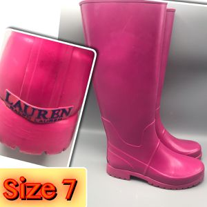 Ralph Lauren Women's Rain Boots Size 7 for Sale in Tinton Falls, NJ