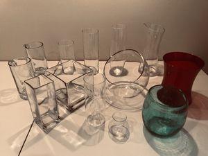 Glass vases for Sale in Alexandria, VA