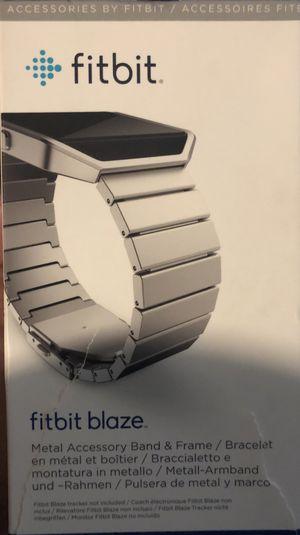 Fitbit Blaze Metal Band Accessory Fb159mlsr Stainless steel for Sale in Jacksonville, FL