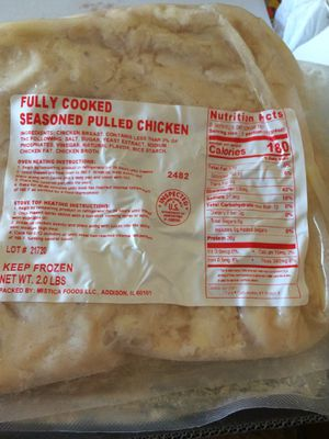Fully cooked seasoned pulled chicken for Sale in Bedford Park, IL