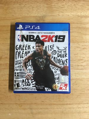 NBA 2K19 PS4 for Sale in Parma, OH