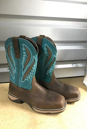 Ariat boots|size 8| work boots for Sale in Phoenix, AZ