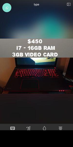 Toshiba laptop gamer for Sale in Framingham, MA