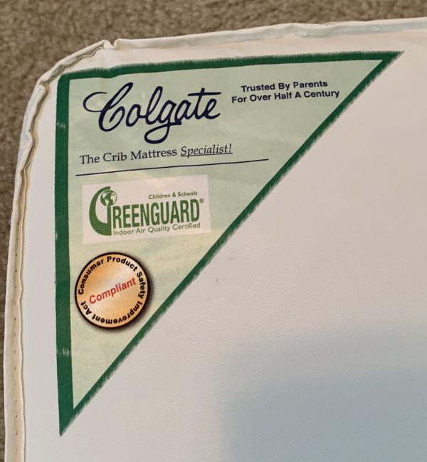 Colgate crib/toddler mattress