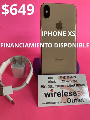 IPHONE XS 64GB T-MOBILE/METRO PCS!!! FINANCING AVAILABLE!!! for Sale in Las Vegas, NV