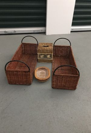 Wicker set for Sale in San Francisco, CA