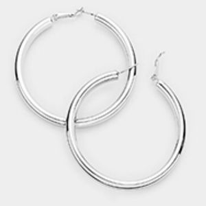 Silver Hoops for Sale in Baltimore, MD