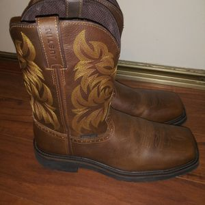 Justin Boots, Work Boots, Safety Toe for Sale in Walnut, CA