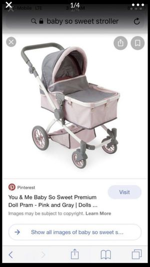 Toys are us baby so sweet baby doll toy doll stroller for Sale in Long Beach, CA