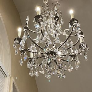 Custom Made Crystal Chandelier for Sale in Great Neck, NY