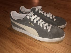 Grey Suede Puma's Size 14 US | Brand New (Never Worn) for Sale in Denver, CO