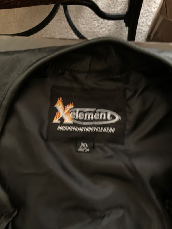 XElement 2XL motorcycle vest.