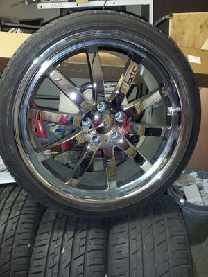 20in rims with Mercedes logo for Sale in Scottsdale, AZ
