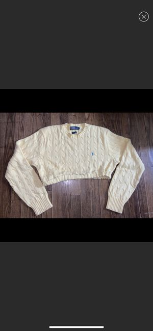 Polo cropped sweater for Sale in Kinston, NC