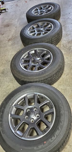 Jeep Gladiator or Wrangler wheels and tires for Sale in Seattle, WA